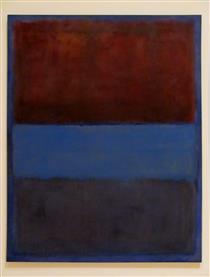 No.61 (Rust and Blue) - Mark Rothko