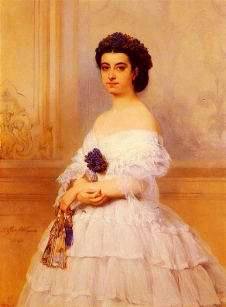 Marquise De Louvencour, 1860 - Gustaf Wappers