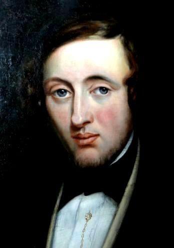 Portrait of a man - Gustaf Wappers