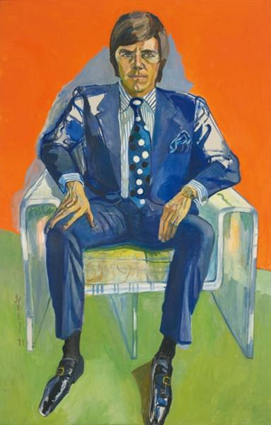 Portrait of Timothy Collins, 1971 - Еліс Ніл