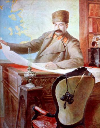 Marshal Fevzi Cakmak, 1923 - Huseyin Avni Lifij
