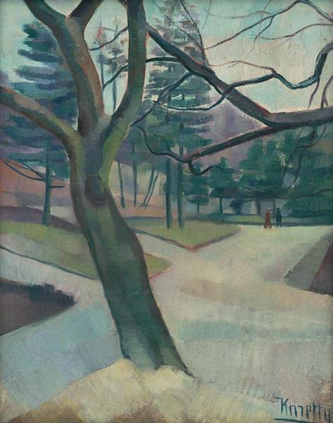 In the Park, c.1930 - c.1940 - Kmetty János