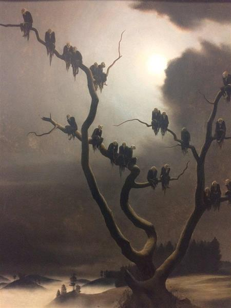 Ghosts on a Tree, 1933 - Franz Sedlacek