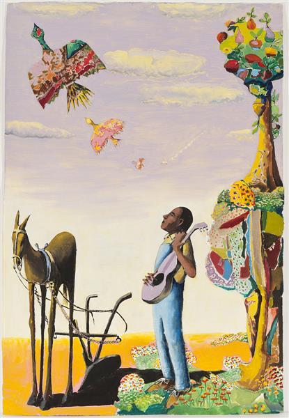 Migration Blues, 1997 - Benny Andrews