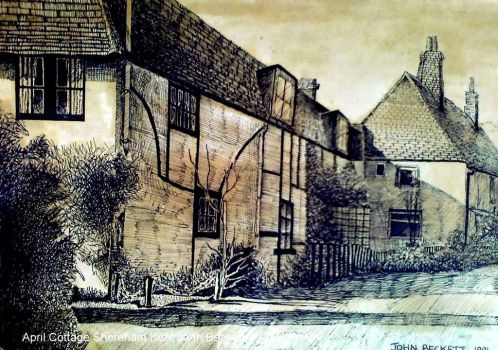 April Cottage  by John Baroque, 1991 - John-Baroque