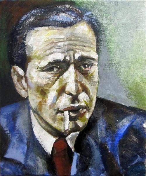 Portrait of Humphrey Bogart, 2018 - Zani Corrado