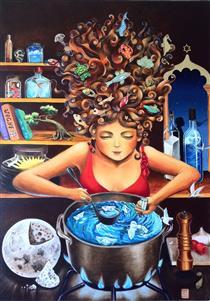 The alchemist cook - Marina Pallares