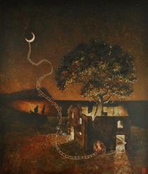 Weaving to the moon - Marina Pallares