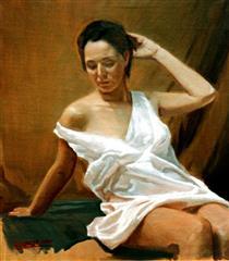 Figure in the Study - Alejandro Cabeza