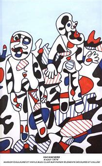Vacanciers - Jean Dubuffet