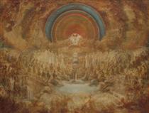 A coroação da virgem - Domingos de Sequeira