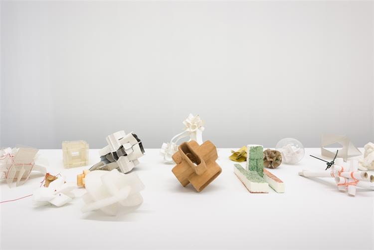 Multiple material works - Mihai Olos