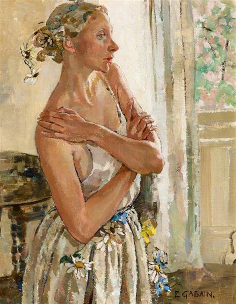 Sunburnt Nymph, c.1930 - Ethel Léontine Gabain