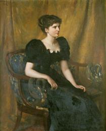 Mrs Mary Niven - Charles William Mitchell