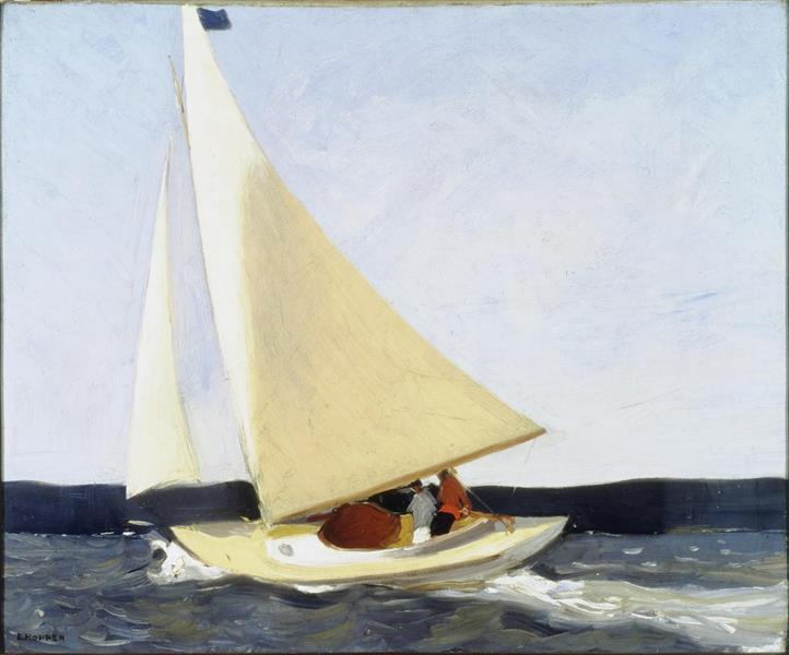 Sailing, 1911 - Edward Hopper