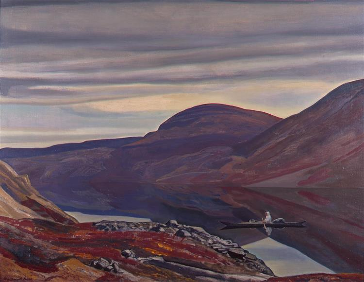 Dead Calm North Greenland, 1932 - Rockwell Kent