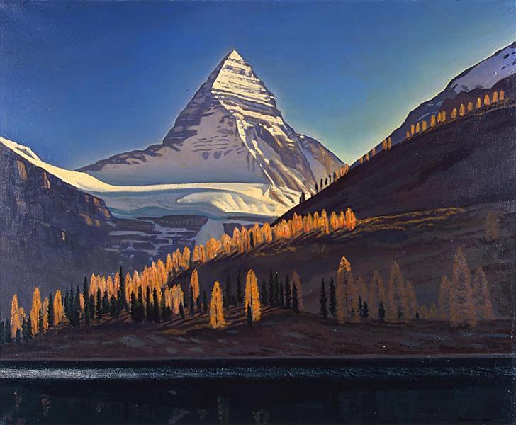 Mount Assiniboine. Canadian Rockies, 1952 - Rockwell Kent