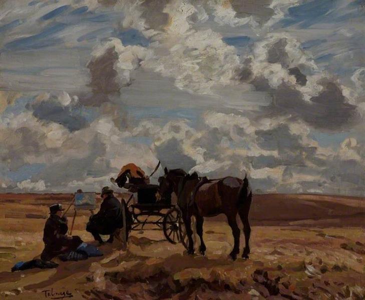 The Sketchers, 1930 - Algernon Talmage