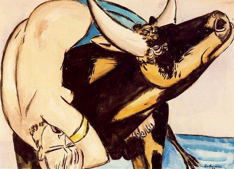 The Rape of Europa, 1933 - Max Beckmann