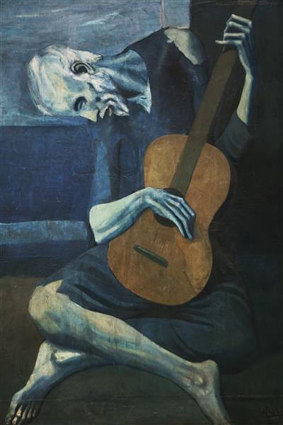 The old blind guitarist - Pablo Picasso
