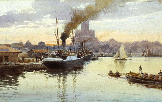 Port, 1895 - Albert Benois