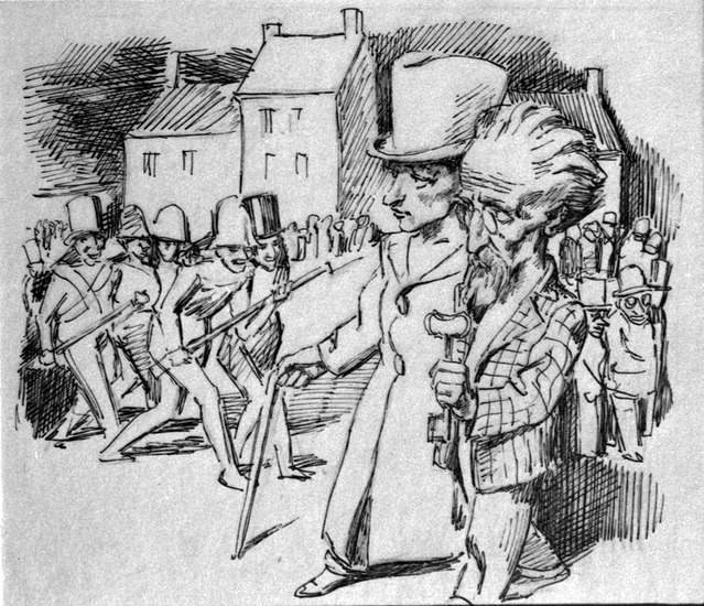 Illustration for 'The Cinnamon Shops', 1934 - Bruno Schulz