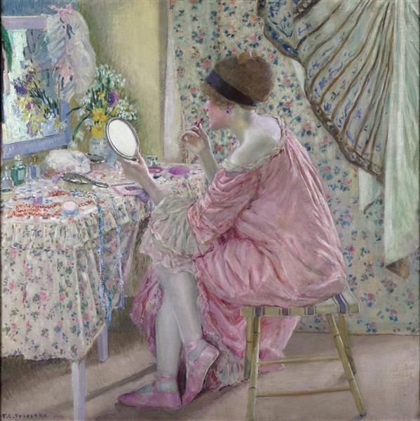 Before Her Appearance, 1912 - 1913 - Frederick Carl Frieseke