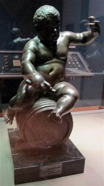 nano morgante su una botte - Juan de Bolonia