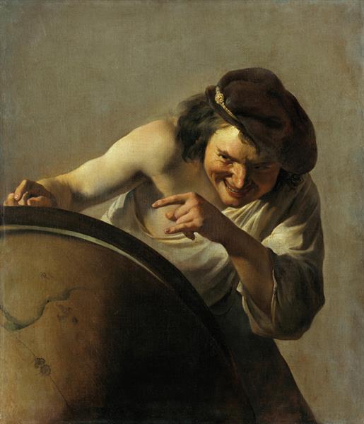 Democritus - Johannes Moreelse