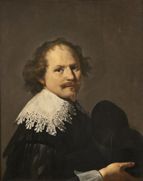Portrait of a Man - Johannes Moreelse