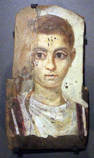Fayum mummy portrait - Fayum portrait