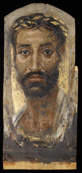 Portrait of a Thin-faced Man - Fayum portrait