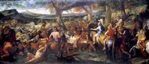 Alexander and Porus - Charles Le Brun