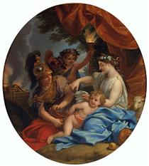 Venus Clipping Cupid's Wings - Charles Le Brun