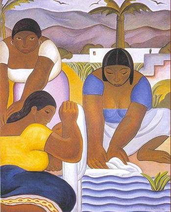 The Washerwomen of the Rímac - Carlos Quizpez Asín