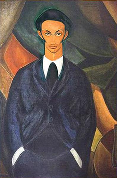 Portrait of Salvador Dalí, c.1924 - Carlos Quizpez Asín