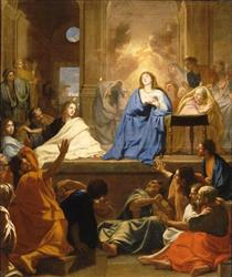 La Descente Du Saint Esprit - Charles Le Brun