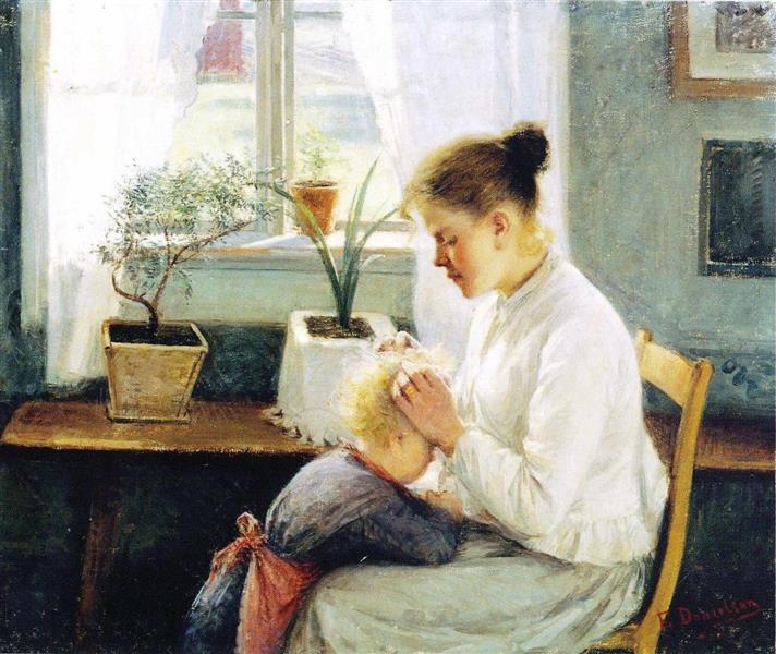 Äidin huoli, 1891 - Elin Danielson-Gambogi