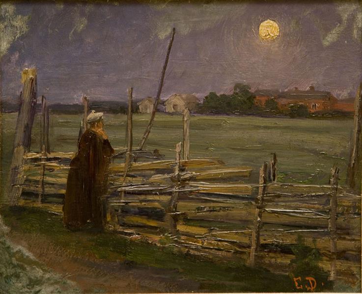 Moonlight, 1890 - Elin Danielson-Gambogi