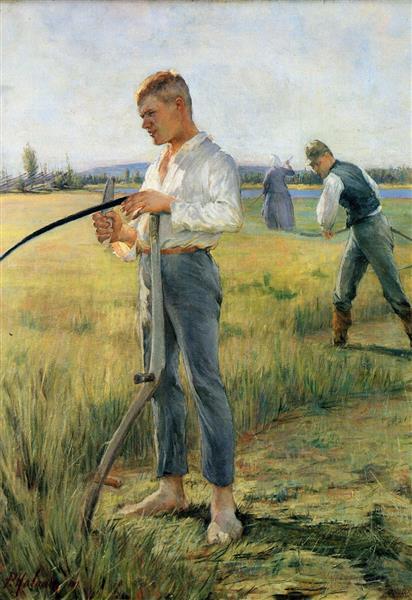 Mowers men, 1891 - Halonen, Pekka