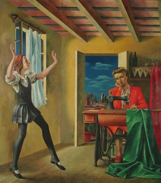 Pasos, 1936 - Antonio Berni