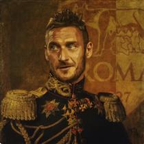 Francesco Totti - Fabrizio Birimbelli (Pupazarro)