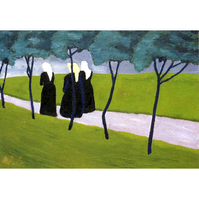 Women on the Path, 1934 - Werner Berg