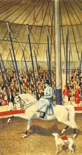 Circus Rider, 1928 - Werner Peiner