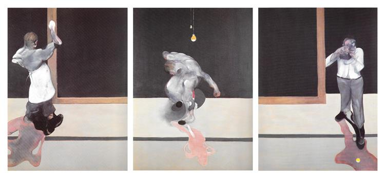 Triptych March 1974, 1974 - Francis Bacon