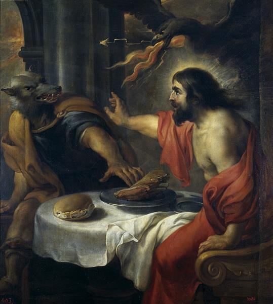 Jupiter and Lycaon - Jan Cossiers