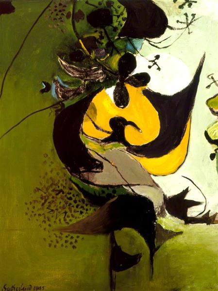 Green Lane, 1945 - Graham Sutherland