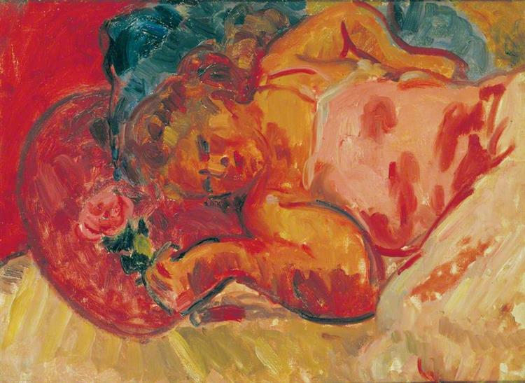 Vera Reclining, 1928 - Matthew Smith