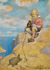 Bob, King of the Fortune Isle - Jessie Willcox Smith