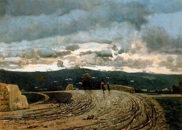 November, 1870 - Telemaco Signorini